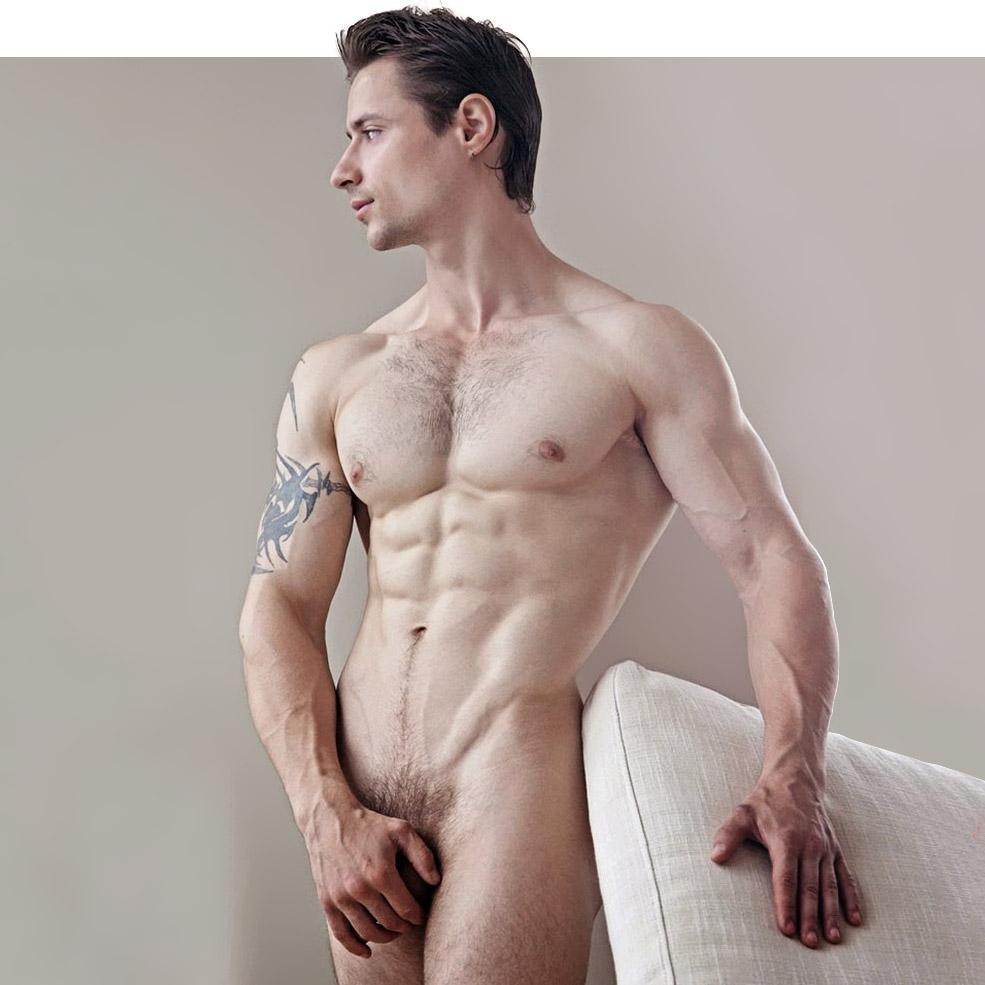 Agra Luca Dylan Rosser Model Nude