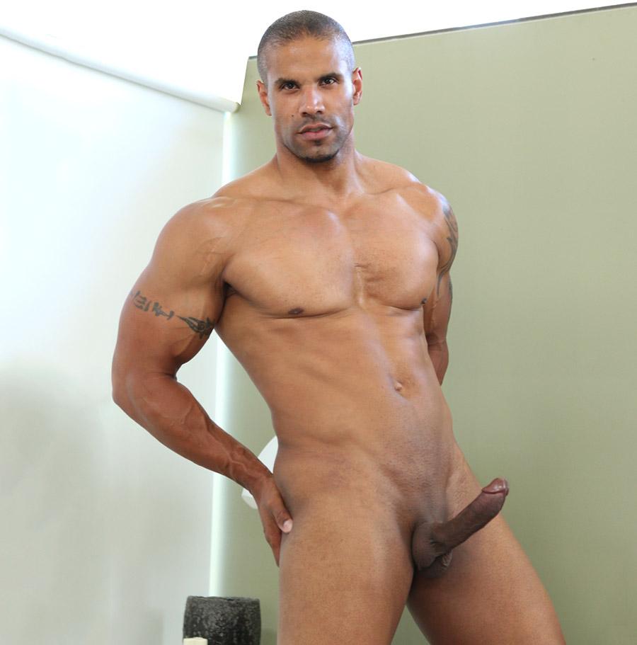 Aging naked men